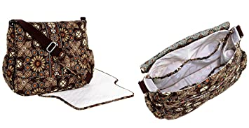 cb9e623d515b Image Unavailable. Image not available for. Color  Vera Bradley Messenger  Baby Bag in Canyon