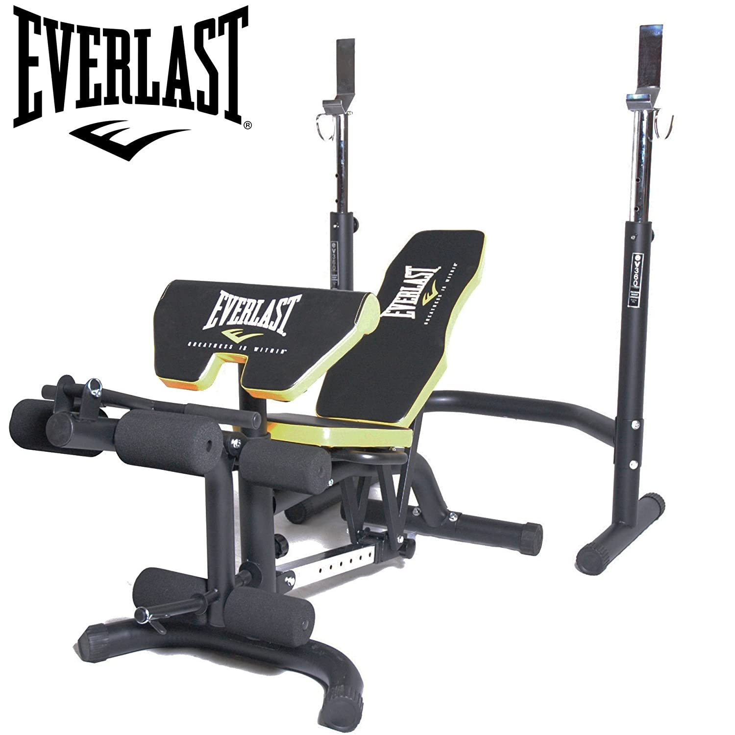 Everlast Olympic Weight Bench Squat Rack Cosmecol