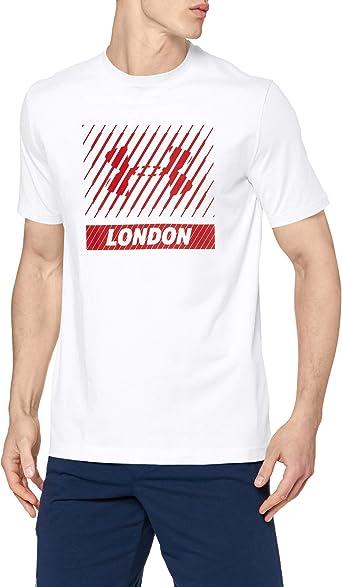 Under Armour Munich Big Logo SS T Camiseta de Manga Corta, Hombre