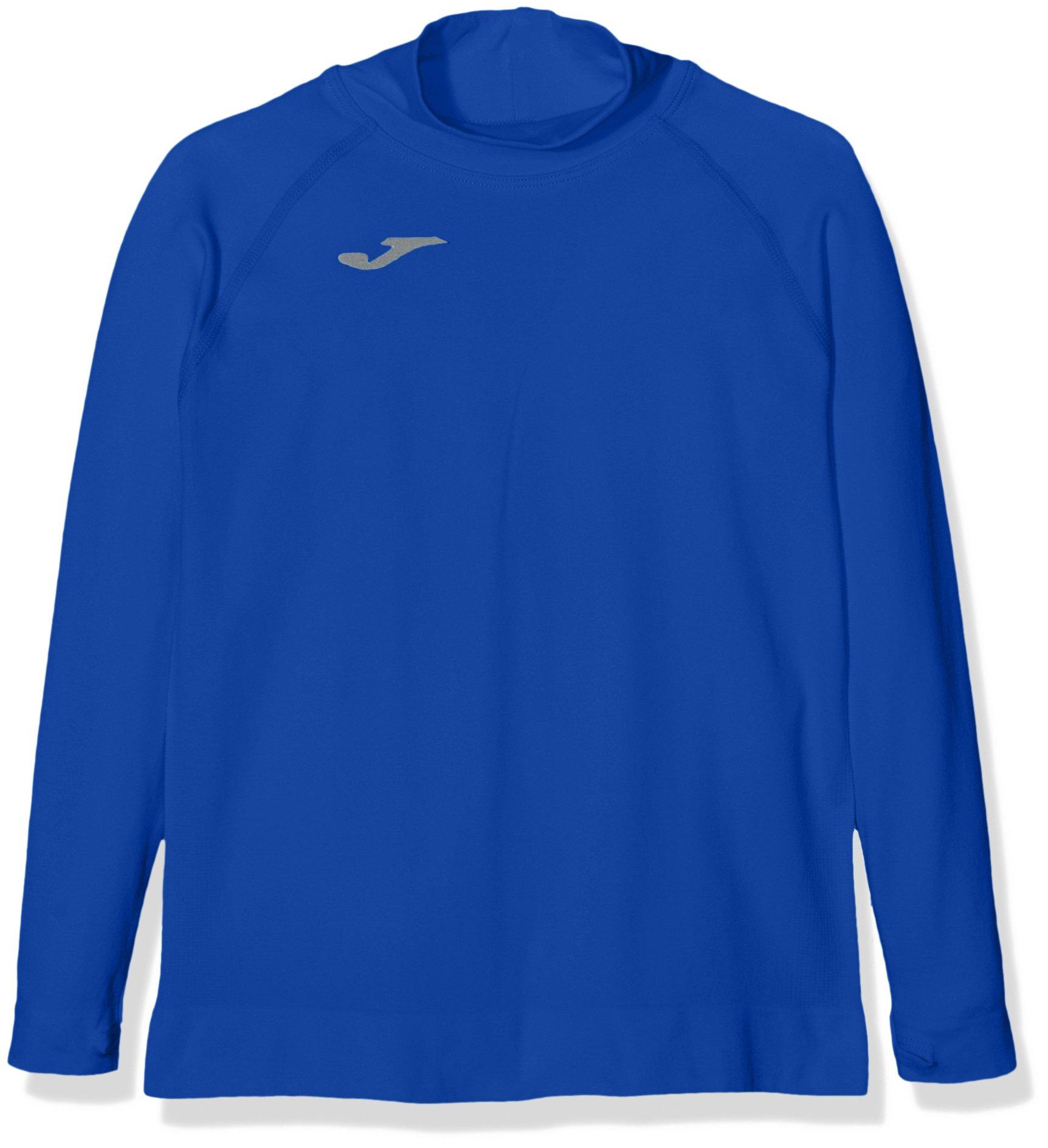 Joma Brama Classic - Camiseta térmica para niños, color azul royal, talla 4-