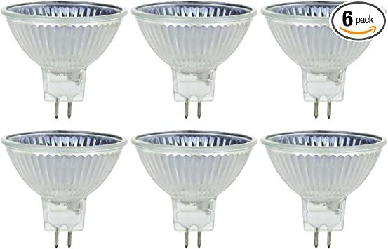 GU5.3 Base 10 Pack Lights Bulbs Home Led Bulbs Led Bulb MR16//CG//FL//24V//6PK 50W Halogen Equivalent 24V MR16 Led Flood Light Bulbs Color : Warm White