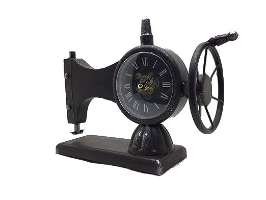 Reloj De Mesa Máquina de coser, Reloj de pie, chimenea Reloj ...