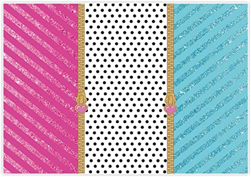 Orange and Pink 10x12 FT Photography Backdrop Abstract Polka Dotted Illustration with Warm Toned Retro Background Background for Baby Birthday Party Wedding Vinyl Studio Props Photography