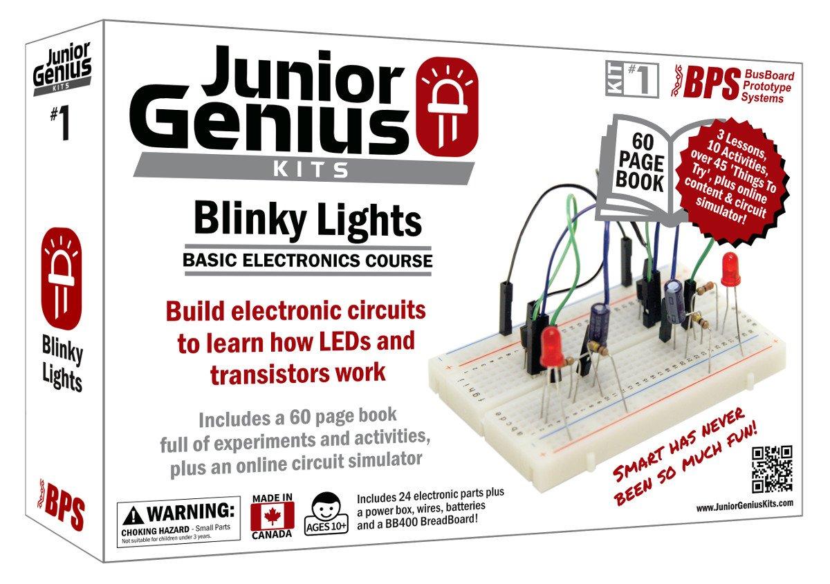 Junior Genius Kit 1 Blinky Lights Industrial Snap Circuits Upgrade Sc100 To Sc750 Click Enlarge Scientific