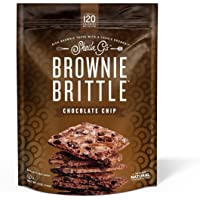 Brownie Brittle, Chocolate Chip, 5 Oz Bag (Pack of 6), The