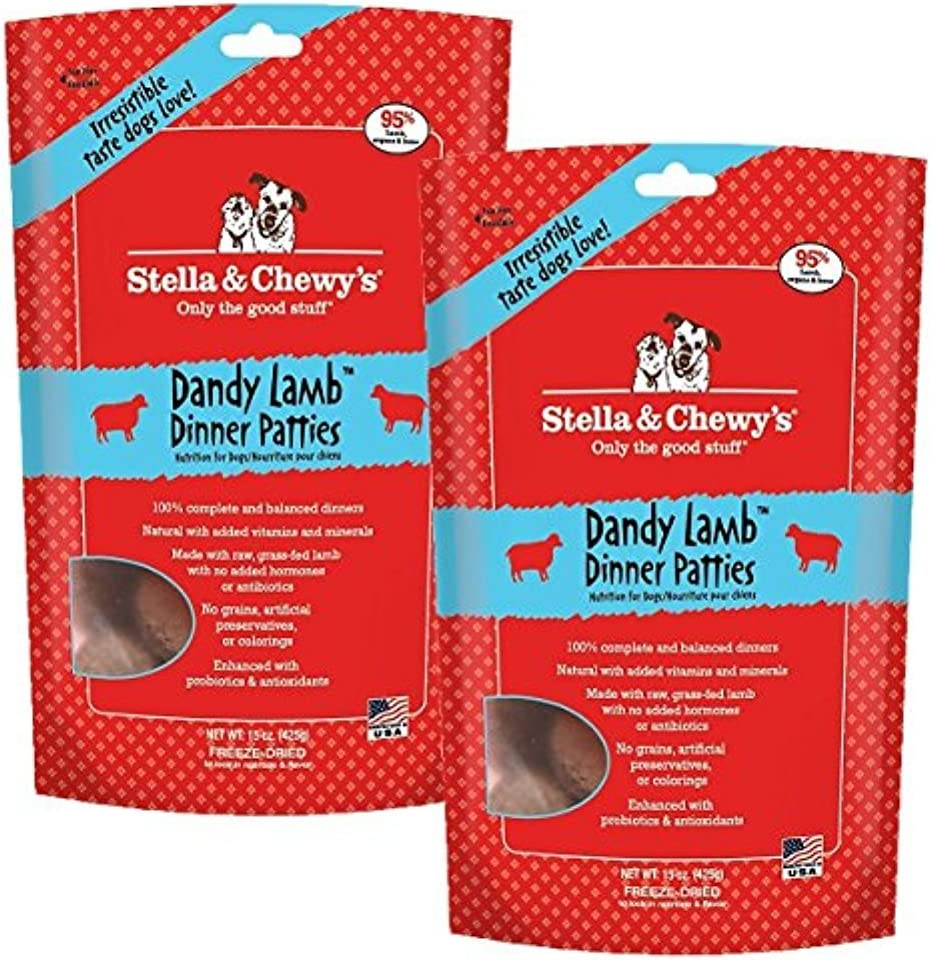 Stella & Chewy's Lamb Dog Food Dinner, 30-Ounce