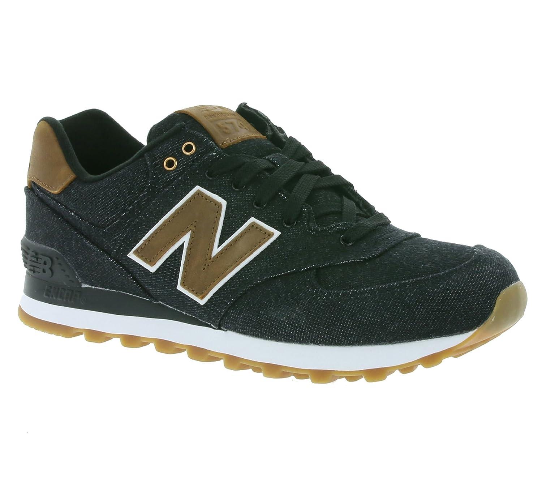 New Balance ML574TXA 574 Ounce Canvas Herren Sneaker Schwarz 44,5