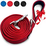 Heavy Duty Dog Leash | Super Comfortable Padded Handle For Walks | Very Durable Leashes For Training Large, Medium & Small Dogs | Excellent 6 Foot Length To Hold On Puppy That Pulls