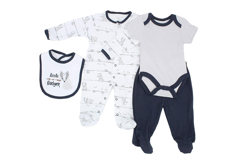Bib Coverall Pants Rene Rofe Baby 4 Piece Bodysuit