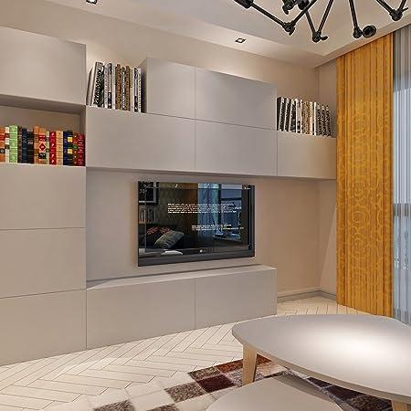 HANMERO Sólido Color Papel Pintado Autoadhesivo para Muebles ...