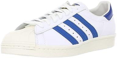 Superstar 80s: G61068 White/ Dark Royal / Chalk White