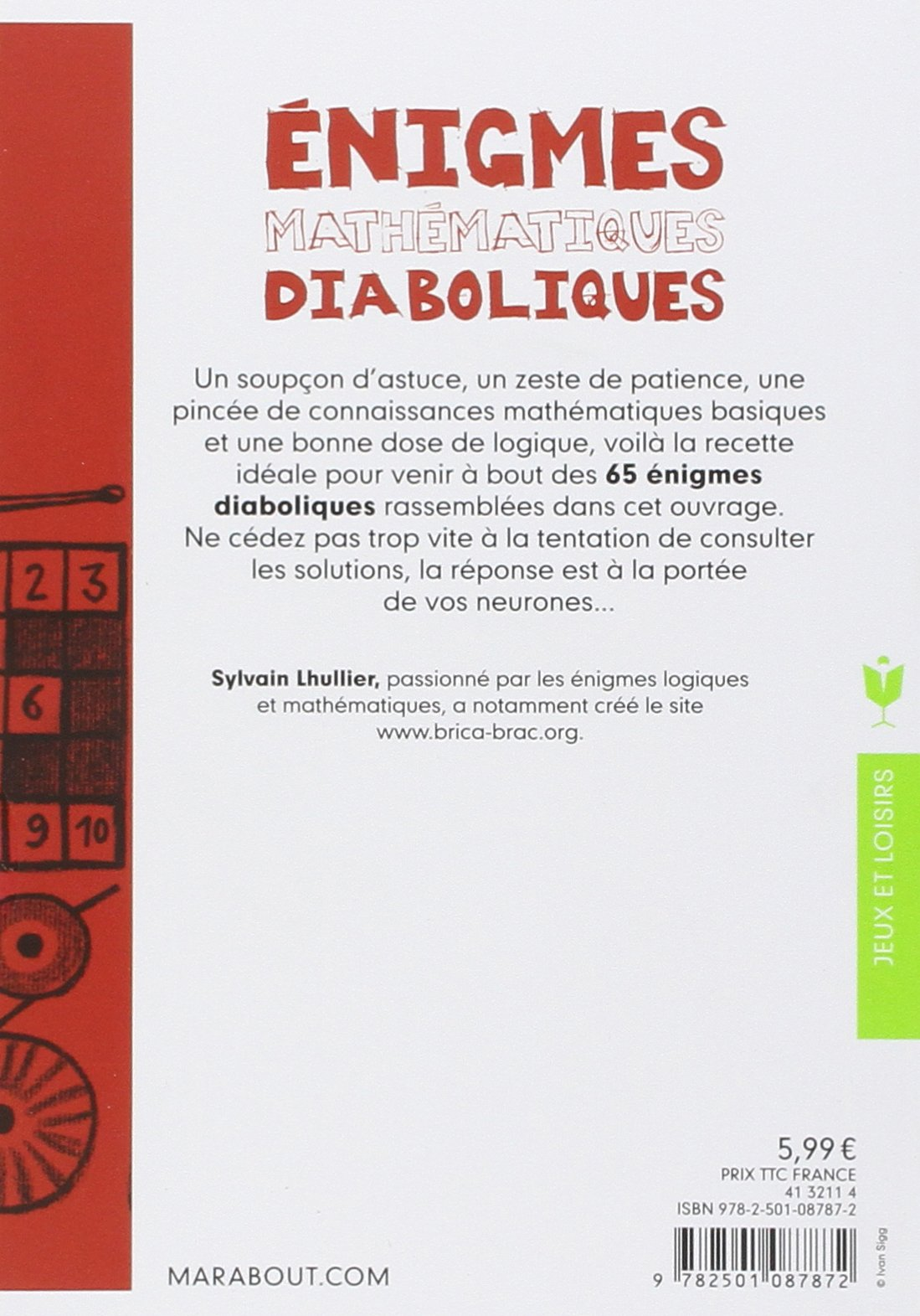 Amazon.fr - Enigmes mathématiques diaboliques - Sylvain Lhullier - Livres