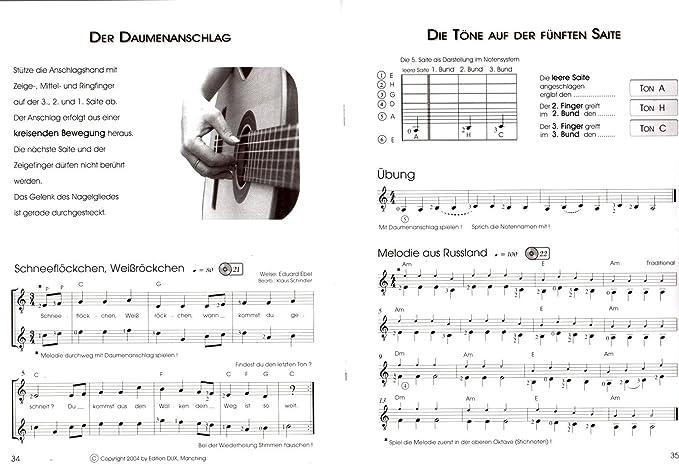 Guitarra Escuela banda 1 de Klaus Schindler – Guitarra clásica ...
