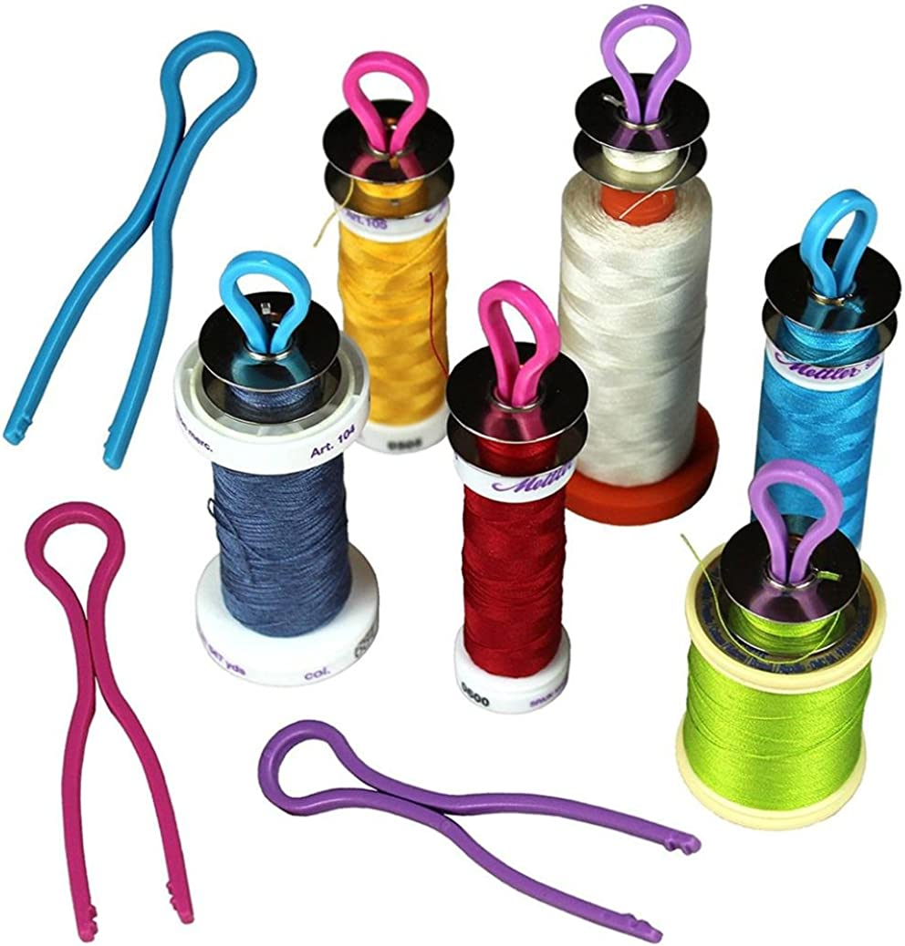 TAOtTAO 10//20//30PCS Bobbin Keep Your Bobbin Threads Matched Up with Your Thread Spools