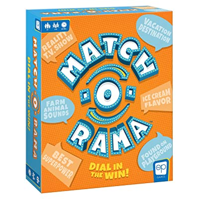 Match-O-Rama Family Board Game   Press-Your-Luck Matching Game Fun for All Ages   Fast Paced Party Game: Toys & Games