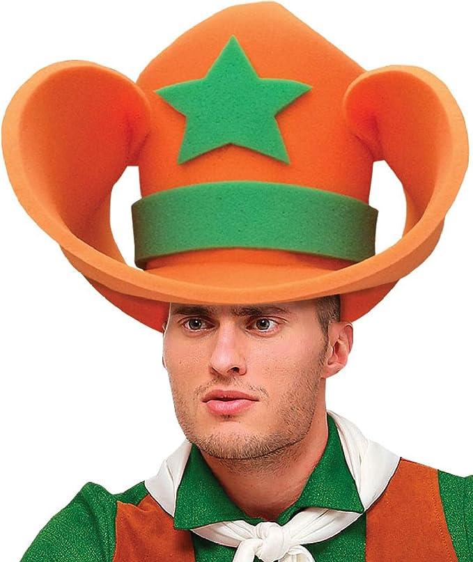 Fancy Me Sombrero de Espuma Gigante para Disfraz de Sheriff Cowboy ...