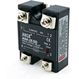 WerFamily SSR Solid State Relay SSR-25DD DC-DC 3-32V DC / 5-250V DC / 25A