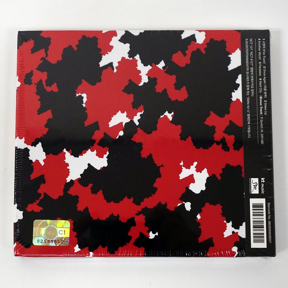 NCT 127 - NCT # 127 (1st Mini álbum) CD con fotos + oficial doblado Póster + adicional photocard [Store regalo]: Amazon.es: Electrónica