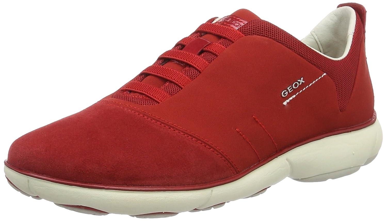 Geox D Nebula G, Zapatillas para Mujer 40 EU|Rojo (Redc7000)