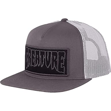 Creature Men s Reverse Patch Mesh High Profile Trucker Adjustable Hats d66d5138d80f