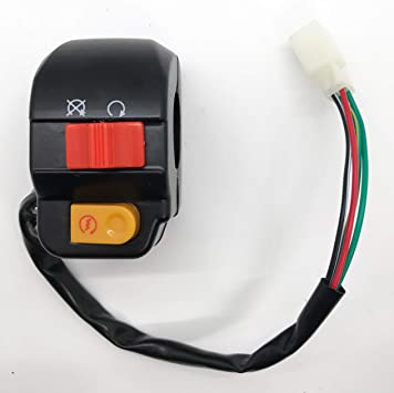 8 Wire 50cc 150cc Scooter Left Handle Switch ATV Moped Handlebar Starter