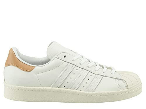 Adidas Womens Superstar 80s Nubuck Leather Trainers: Amazon.es: Zapatos y complementos