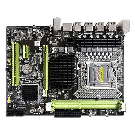 Motherboard 1366 Placa Base Intel X58 DDR3 para Intel Core ...