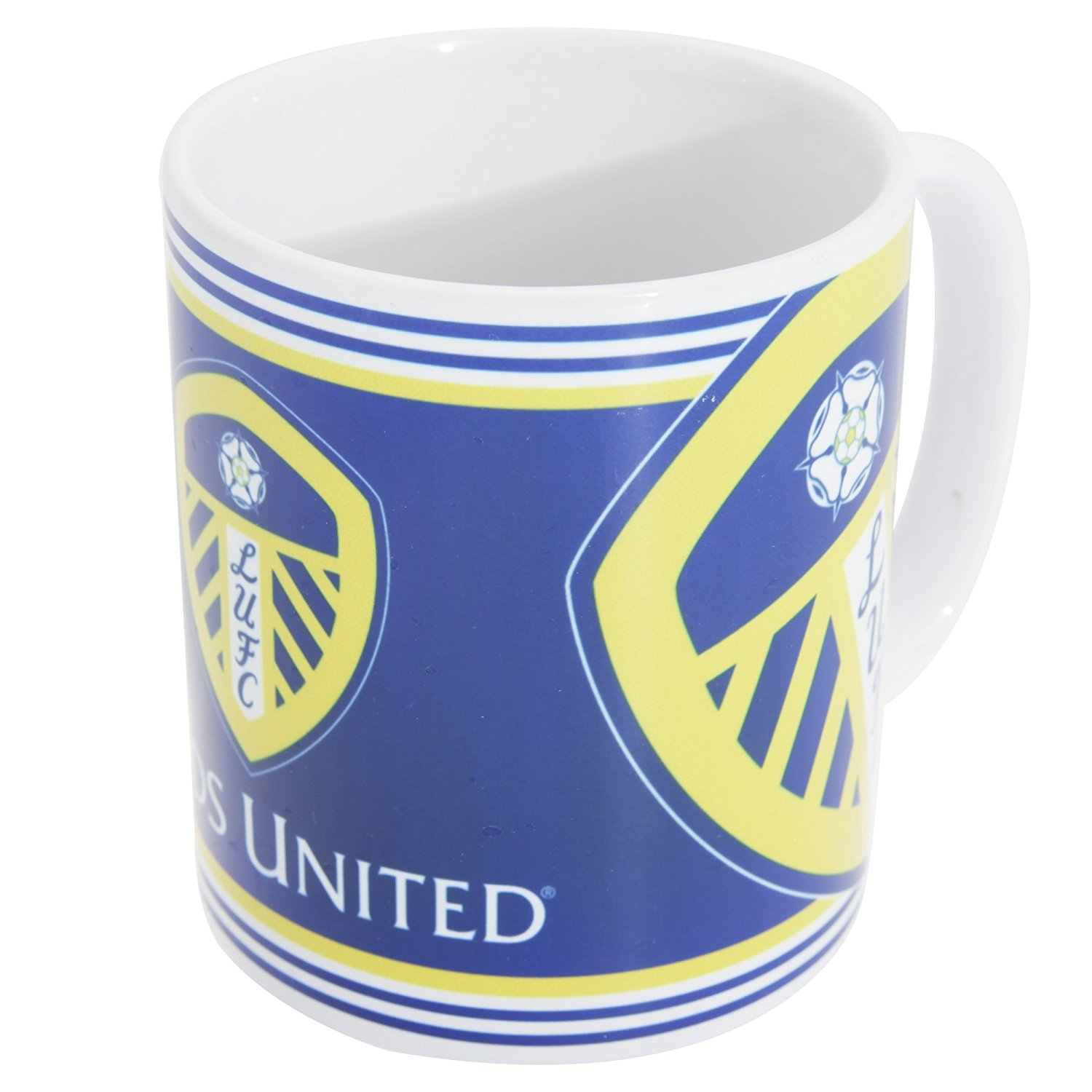 Leeds United F C Leeds United F C Leeds United F C Official Leeds United Fc Three Crest Ceramic Mug By Leeds United F C Amazon In Sports Fitness Outdoors