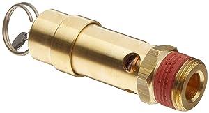 "Control Devices SB Series Brass ASME Safety Valve, 150 psi Set Pressure, 3/4"" Male NPT"