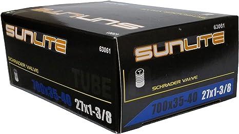 - Pv 700X35-42 27X1-3//8 Sunlite Utili-T Standard Presta Valve Tubes Tubes