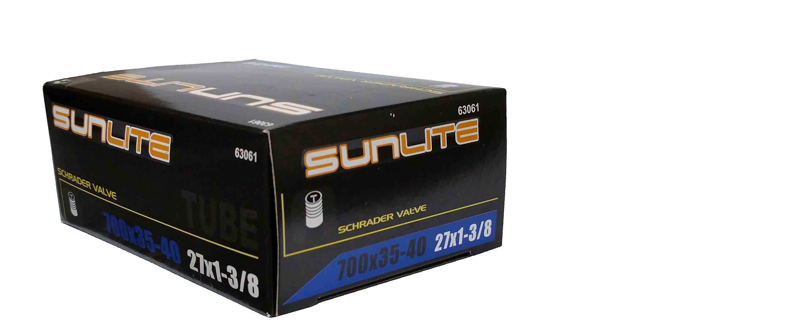 Tube, 700 x 35-40 (27 x 1-3/8) SCHRADER Valve 32mm, Sunlite