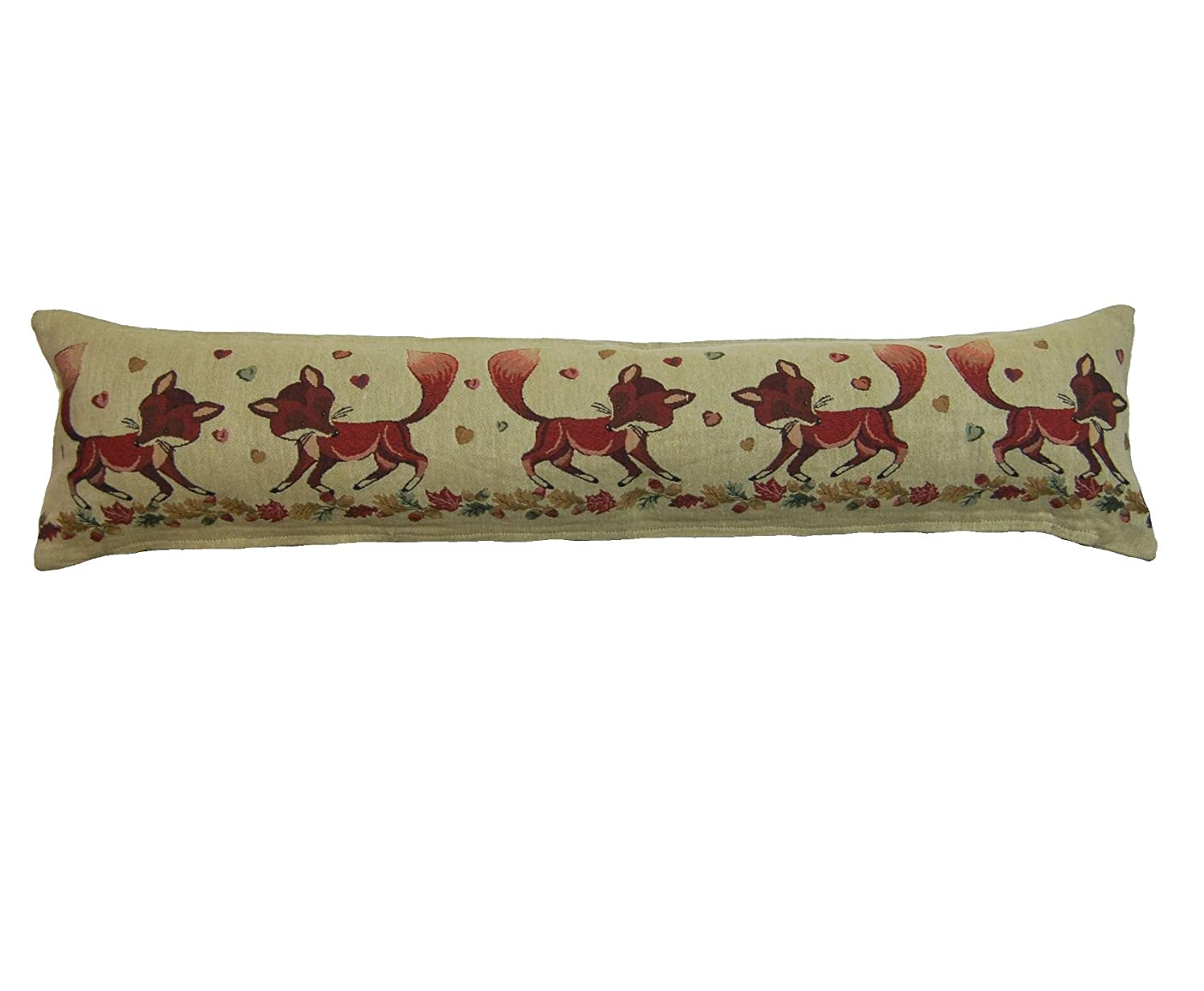 Animal Design Draught Excluder Tapestry Style Fabric Door or Window Draft Guard Cushion (Ducks) Classic Home Store