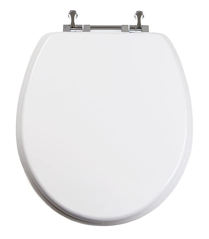 Topseat 6tstr9999cp 000 Tinyhiney Round Toilet Seat With Metal