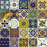 Tierra y Fuego Tile Set – Twenty-Five (25) 4¼ x 4¼ in. Ceramic Mexican Tiles – Talavera Review