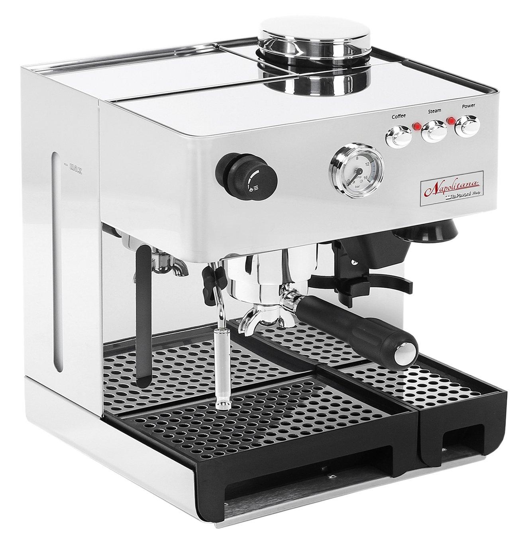 La Pavoni PA-1200 Napolitana Stainless Steel Automatic Espresso Machine by La Pavoni