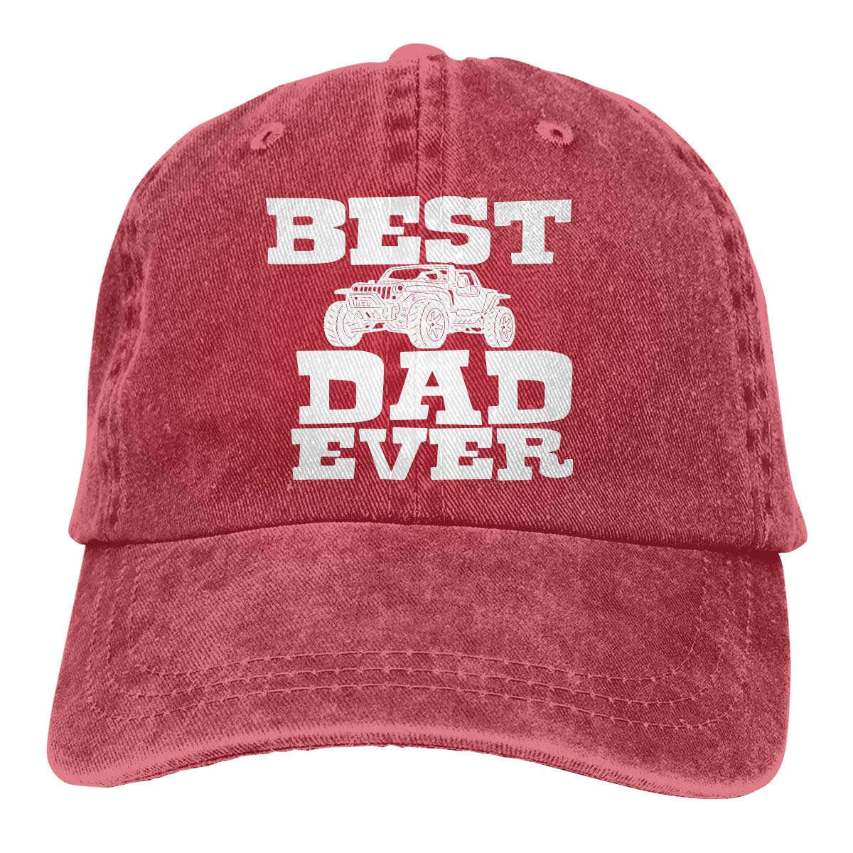 PMGM-C Best Dad Ever-1 Adult Personalize Cowboy Casquette Adjustable Baseball Cap