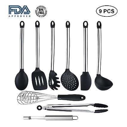 Fotos de utensilios de cocina set de cucharas de madera for Juego de utensilios de cocina