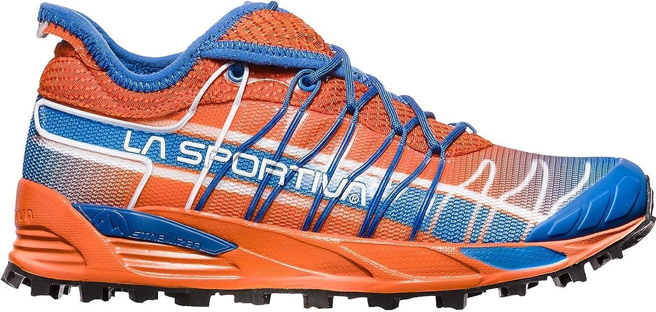 La Sportiva Mutant Woman, Zapatillas de Trail Running para Mujer, Multicolor (Lily Orange/Marine Blue 000), 43 EU: Amazon.es: Zapatos y complementos