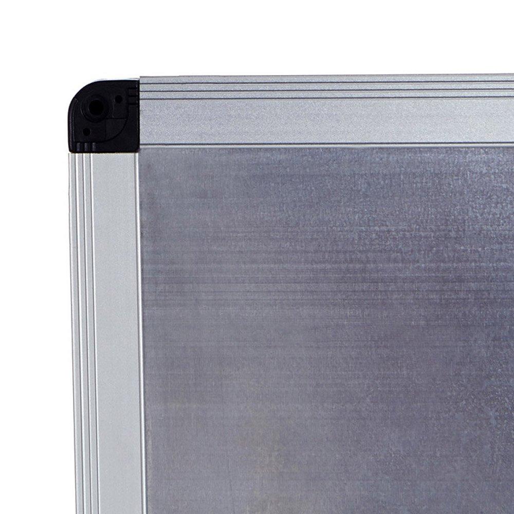 2er Pack 100 x 80 cm magnetisch mit Alurahmen VIZ-PRO Whiteboard