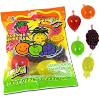 Fruity's Snack TikTok Ju-C Jelly Fruit Candy Bag 11.3 Oz! 5 Flavors Strawberry, Sour Apple, Pineapple, Grape and Orange! Tasty Fruity Jelly Snack! Perfect For TikTok Jelly Fruity Candy Challenge!