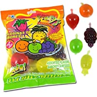 Fruity's Snack TikTok Ju-C Jelly Fruit Candy Bag 11.3 Oz! 5 Flavors Strawberry,...