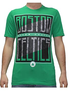 NBA - Boston Celtics: Athletic camiseta de manga corta T L), color verde: Amazon.es: Deportes y aire libre