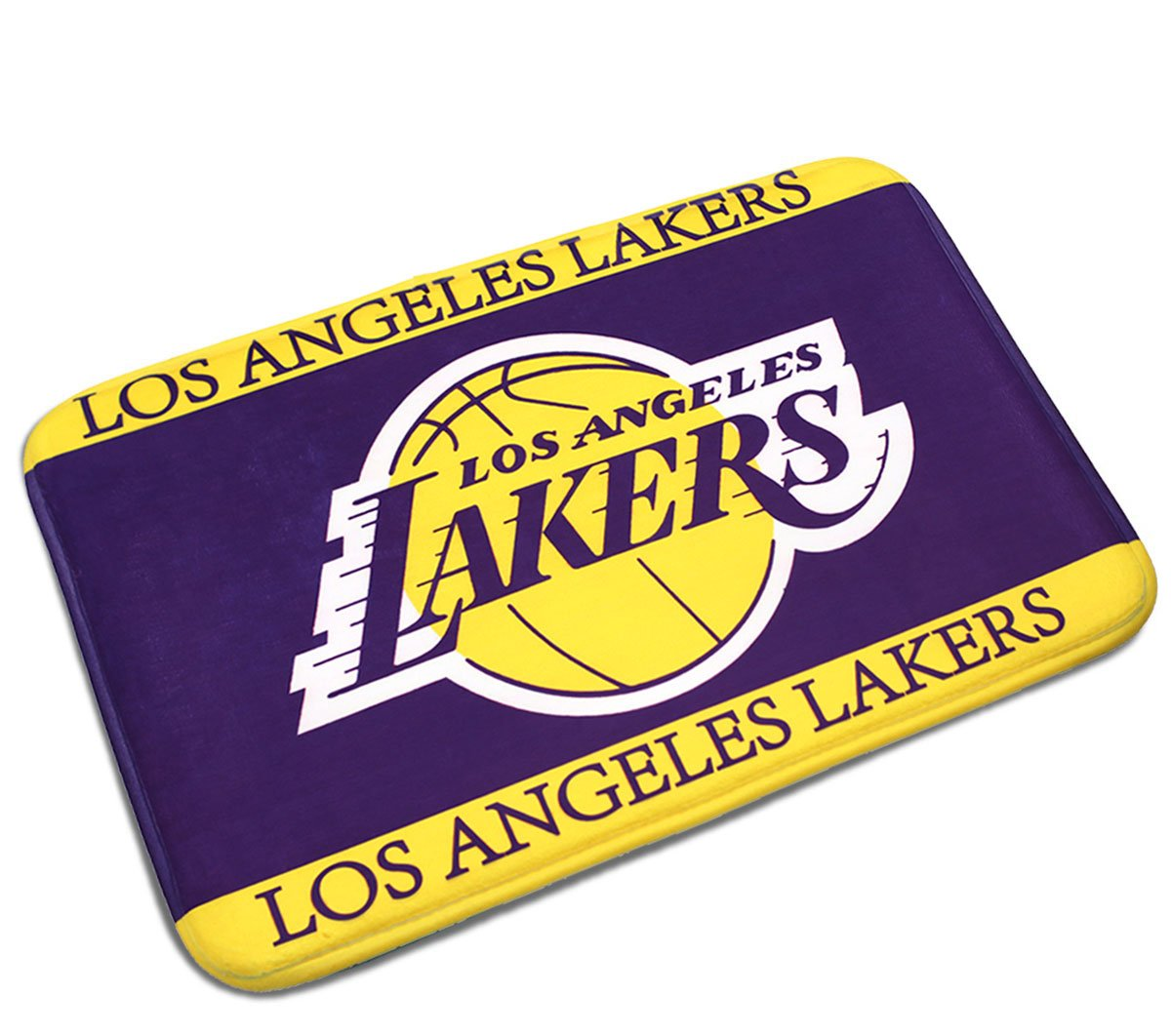 LAKERS Short Carpet Mats Cover Non-Slip Machine Washable Outdoor Indoor Bathroom Kitchen Decor Rug