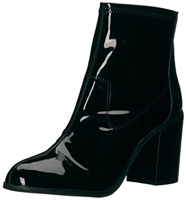06b6f3ae99d31 BC Footwear Women s Ringmaster Ankle Bootie Black Patent 6 M US