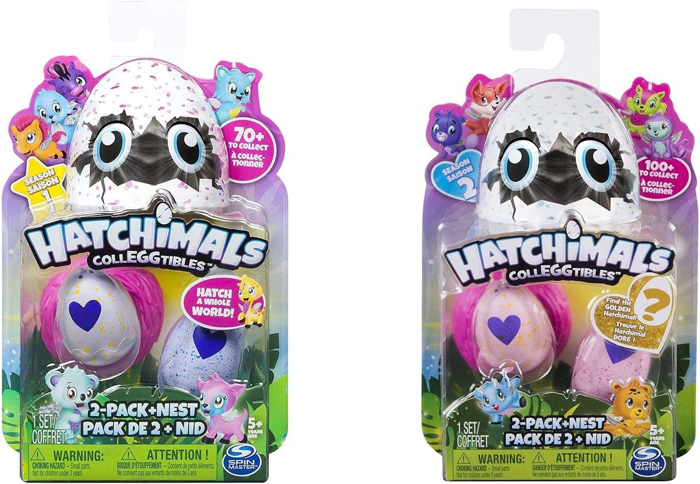Nest Hatchimals CollEGGtibles Season 1 2-Pack