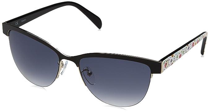 Tous STO314-570583, Gafas de Sol para Mujer, Shiny Palladium, 57