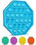 Colplay Pop Pop Fidget Toys,Push Pop Bubble Fidget Sensory Toy,Autism Special Needs Silicone Stress Relief Toy,Great…