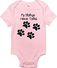 Rapunzie Baby Bodysuit - My Siblings Have Tails Cute Baby Clothes for Infant Boys and Girls