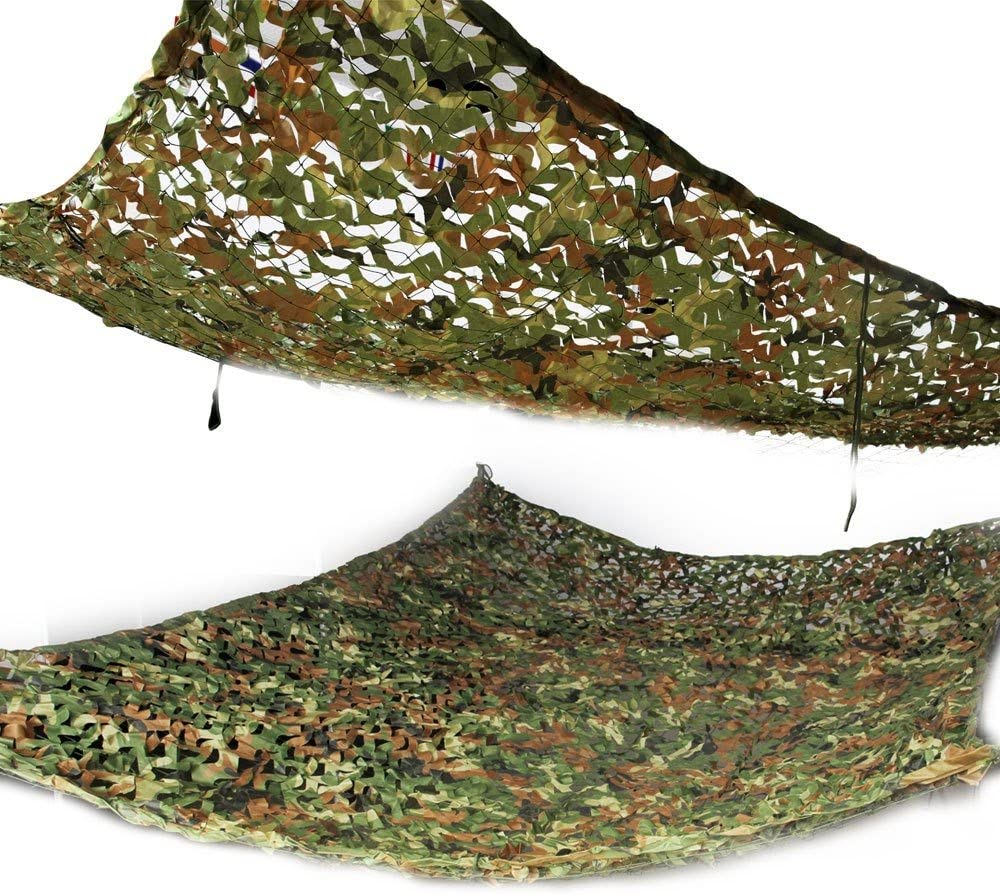 Details about  /Hunting Camping Camo Net 2X3m Woodland Cover Cloths Shade Car Military For