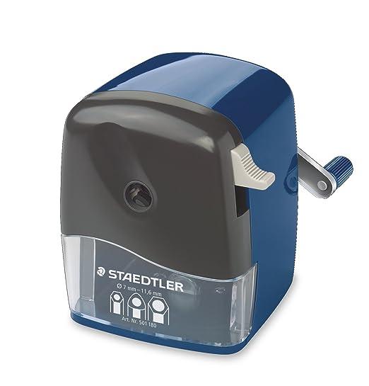 3 opinioni per Staedtler 501180temperamatite a manovella con opzione punta regolabile.